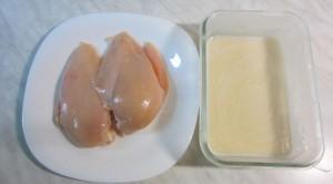Куриное филе и кляр